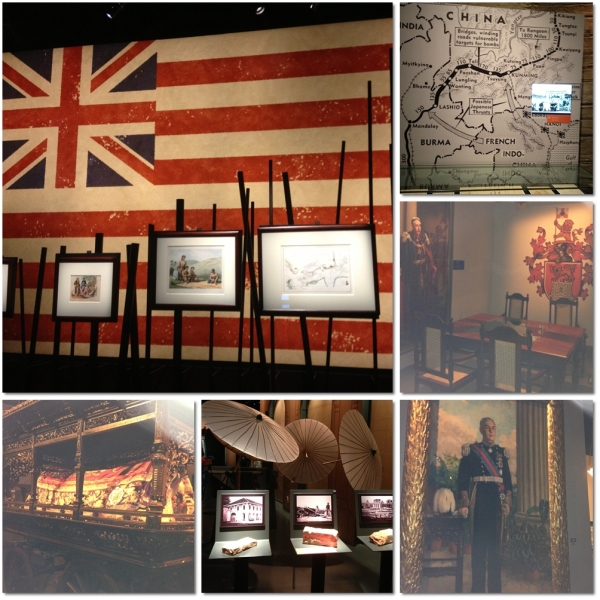Other displays, including the colonialism era