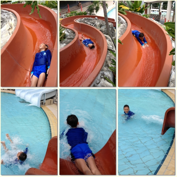 The red slide