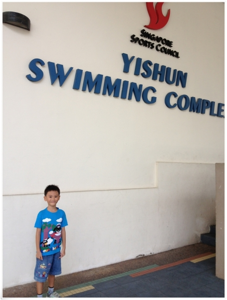 We finally arrived here: Yishun Swimming Complex
