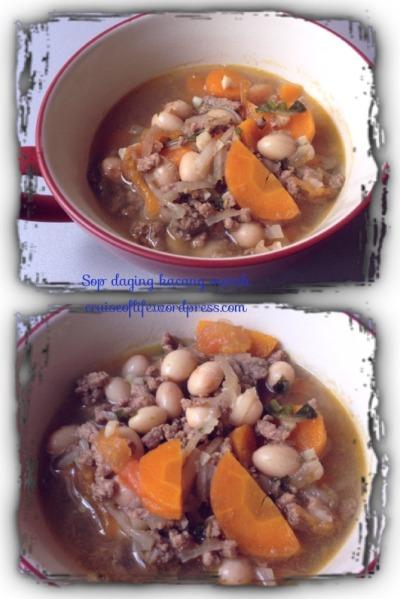 Sup Daging Kacang Merah