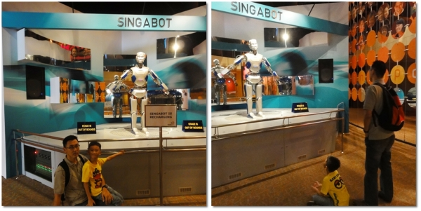 Singabot, a robot who can talk.