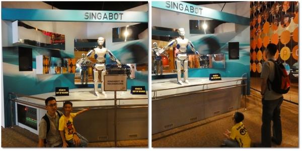 Singabot, a robot who can talk.