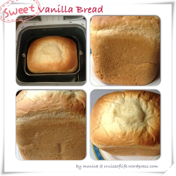 Sweet Vanilla Bread