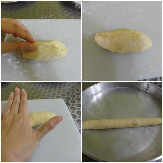 Step 8 (top) - Step 9 (bottom)