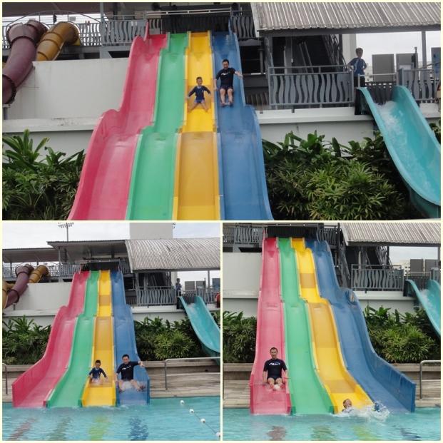 Free Fall Slide