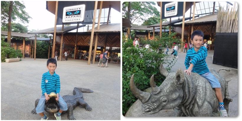 Night Safari Entrance