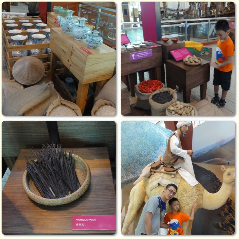 Bao Chuan Cutaway, displays precious goods and even exotic animals like giraffes acquired during Zheng He's Voyage