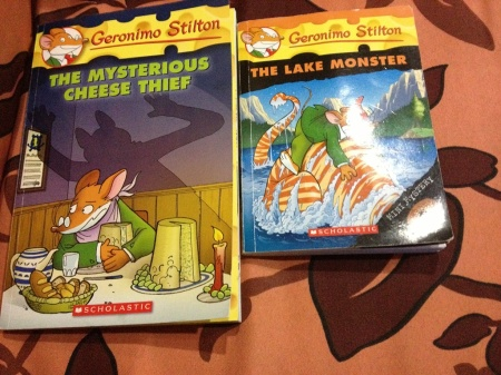 His two book about Geronimo Stilton