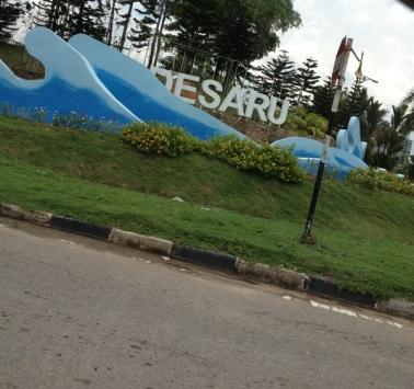 So happy when we finally entered Desaru