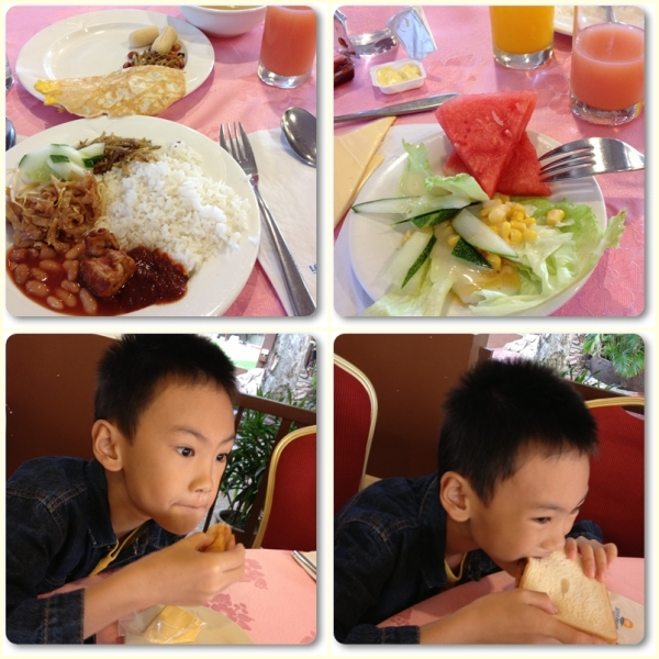 Lotus Desaru Breakfast