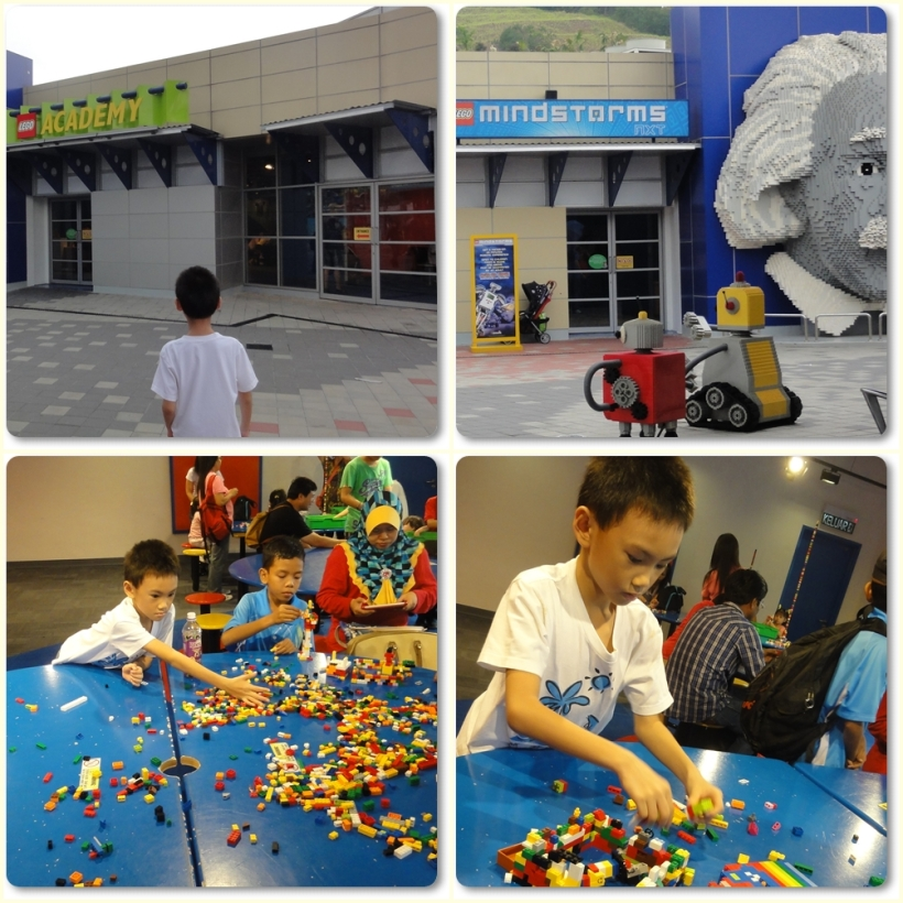 Lego Mindstorms and Lego Academy