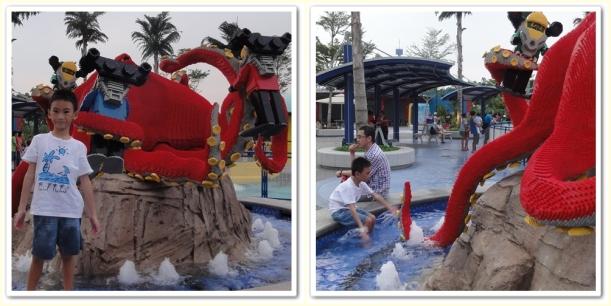 Octopus Water Splash