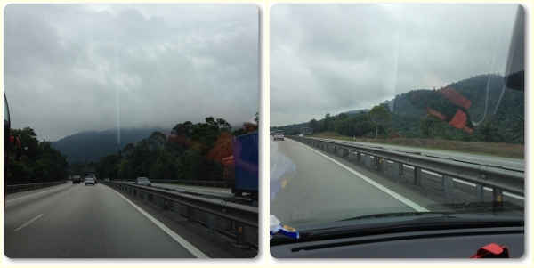 Toll road from Tuas Check Point to Ayer Keroh, Melaka