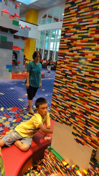 How many years will these walls be finally complete with Legos?
