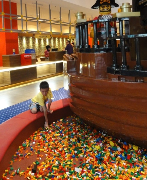 And another Lego pool