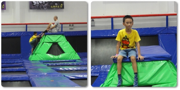 Amped Trampoline