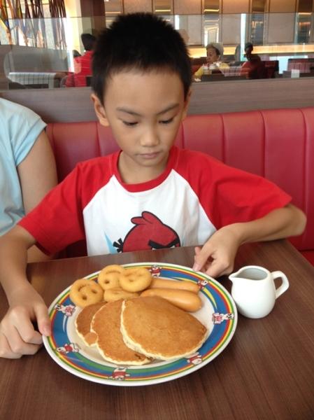Swensen's pancakes