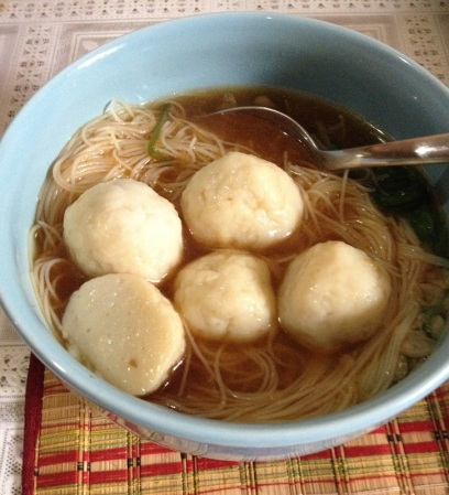 Homemade fishballs are absolutely much better than the ones in the supermarkets