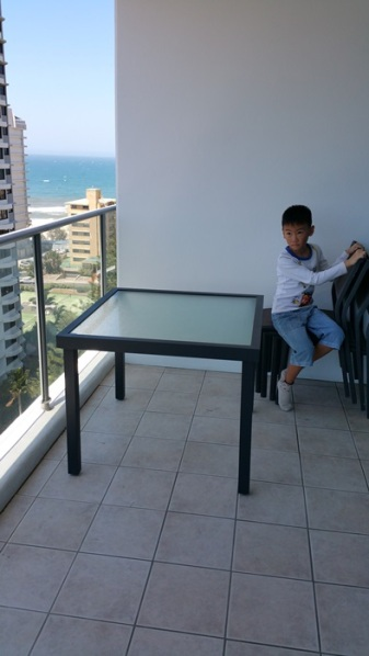 12th floor balcony