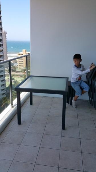 12th floor balcony