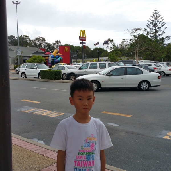 Playground in Mc Donald...........