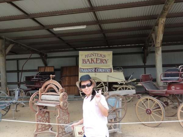 Some memorabilia from old Australian horse carriages