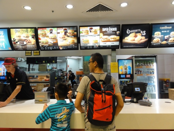 Another junk food in Hungry Jack.......