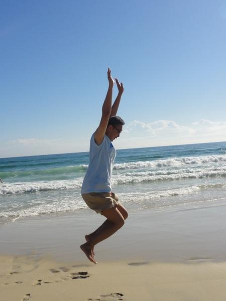 Jump again........