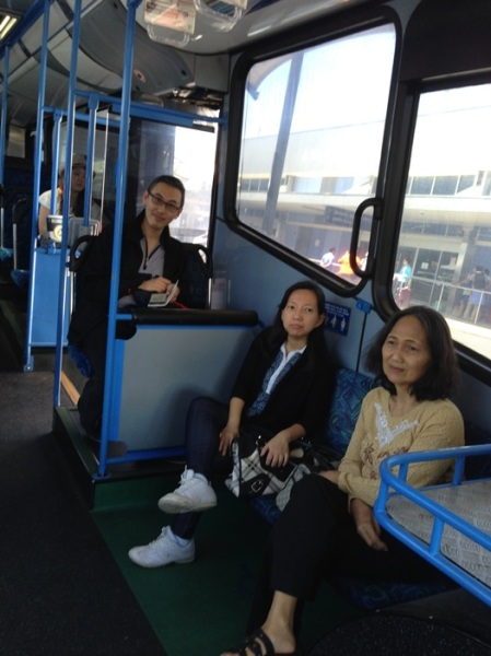 Everybody enjoyed the trip
