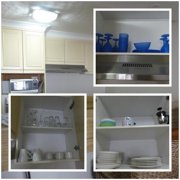 A complete kitchen appliances