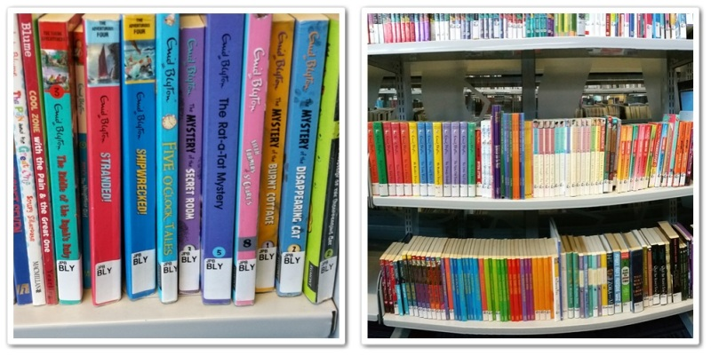 Enid Blyton's collections. All in good shapes and tidy. Love it!