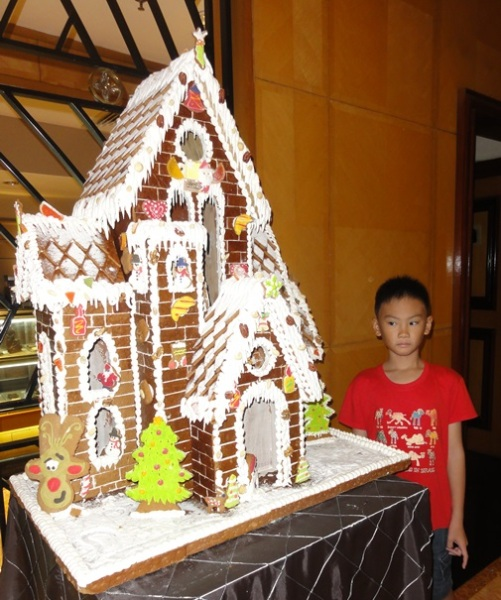 The five millions rupiah gingerbread house..........