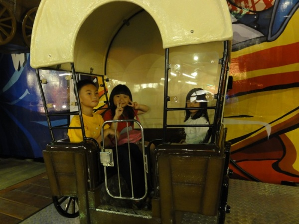Playing in Fun World, as expensive as the one in Jakarta
