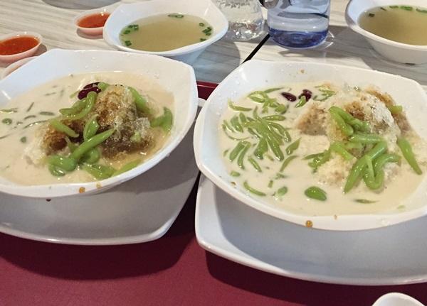Yummy ice cendol for RM 3.40 each