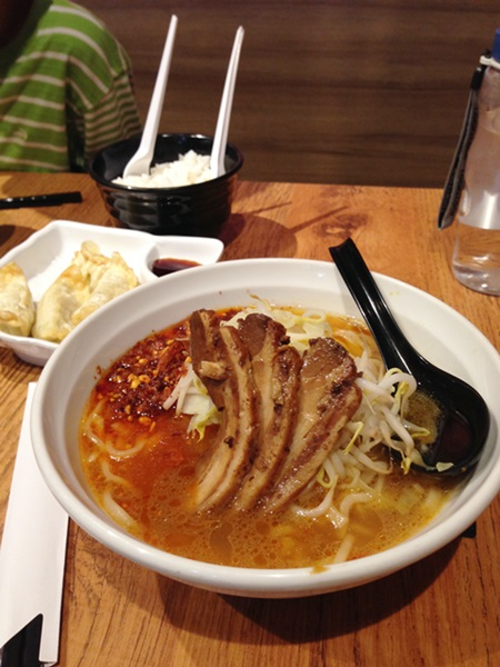 Spicy Ramen at Ramen Champion in Changi Airport Terminal 3