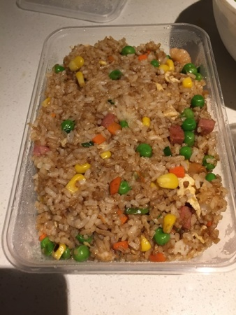 And, another fried rice for the next day