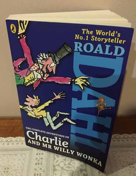Roald Dahl book from his books collections