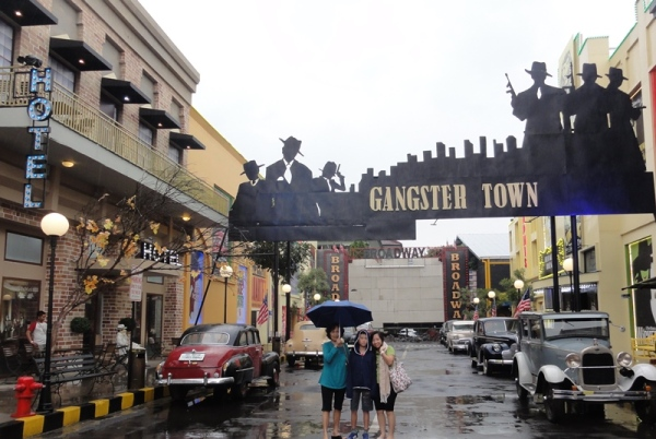 A very safe gangster town for tourist