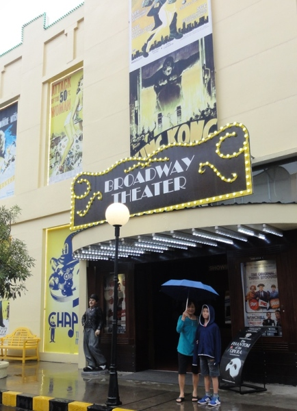 Since it's save, let's visit The Broadway Theatre
