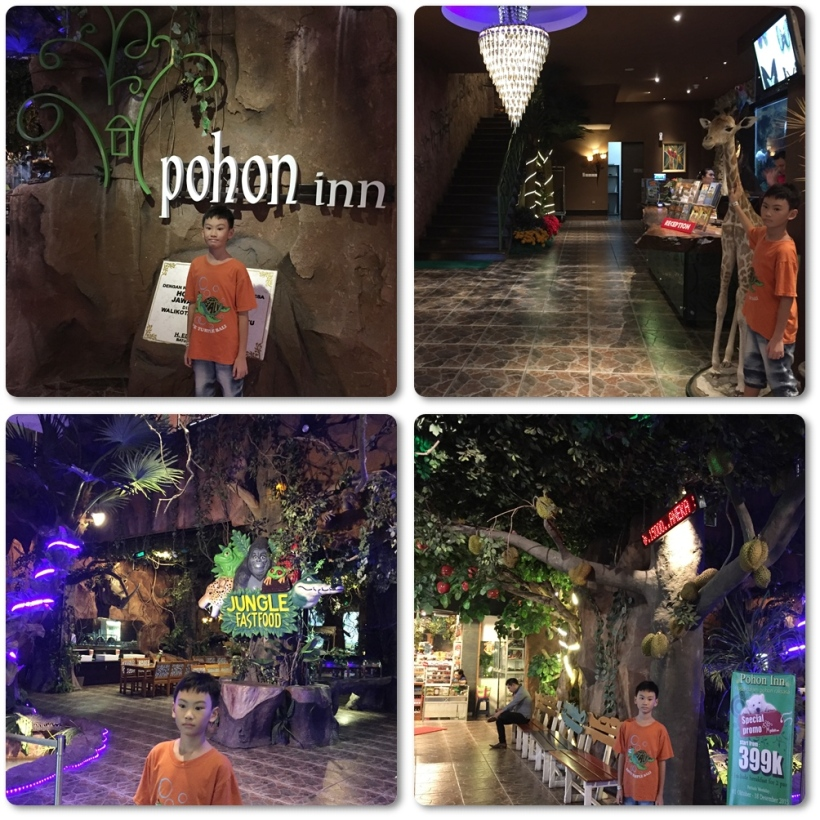 Photo taking inside Pohon Inn Hotel. The hotel usually has good promotion during low season