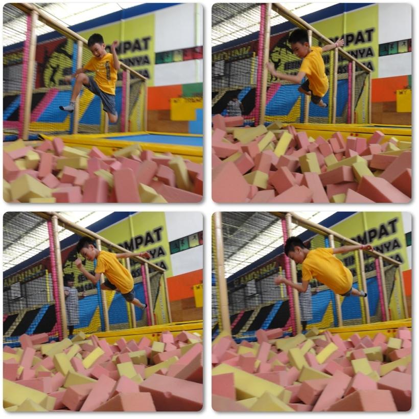 Jumping...........