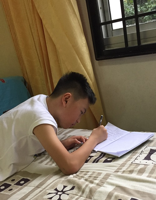 A blogger in the making
