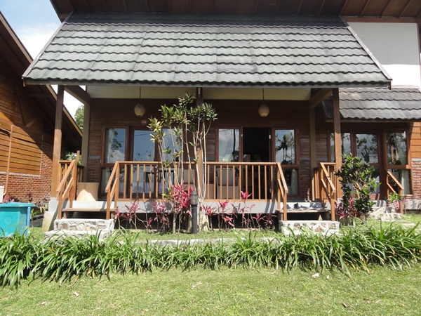 Our bungalow for 3 days and 2 nights