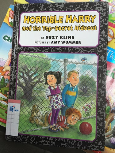 Oh, and he still loved Horrible Harry too..........actually I still love reading Horrible Harry and I think these are good books for children in primary school because the stories are so related to them