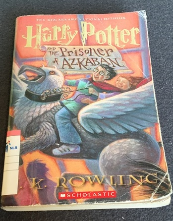 One of his favorite Harry Potter book