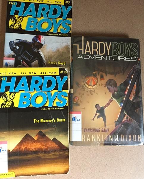 Hardy boys, anyone..........