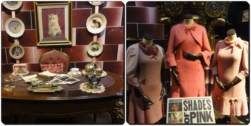 One of my favorite room : Dolores Umbridge room with pink color everywhere