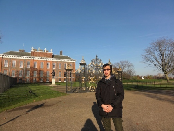 The back gate of Kensington Palace