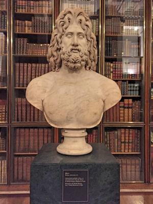 The statue of Zeus